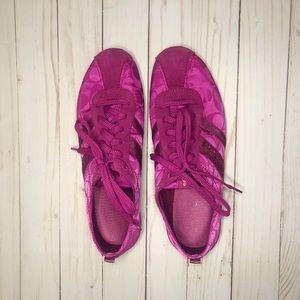 Coach Lace up Tennis Shoes